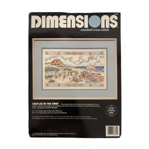 Vintage, Dimensions, 1992 counted cross-stitch kit